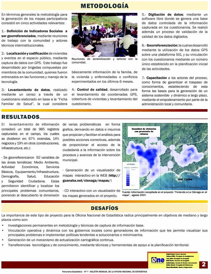 Boletin de la ONE - proyecto Cienega en el mapa p2