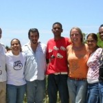 Equipo Guanaba.net y Anna Maria en el centro